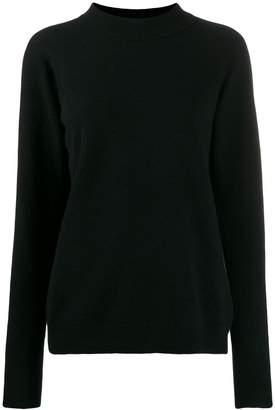 Roberto Collina mock-collar knit sweater