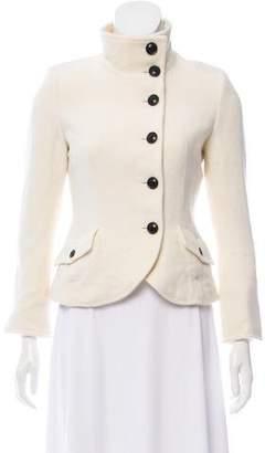 ICB Angora & Wool-Blend Jacket