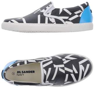 Jil Sander Navy Low-tops & sneakers