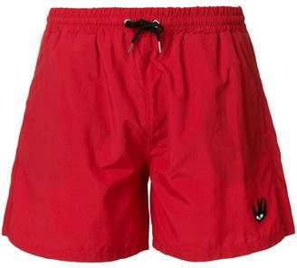 McQ Swallow patch swim trunks