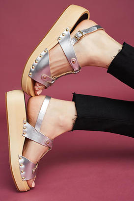 Swedish Hasbeens Rivet Wedges $208 thestylecure.com
