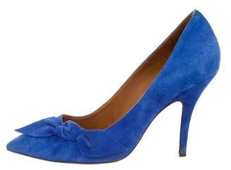 Isabel Marant Suede Bow Pumps
