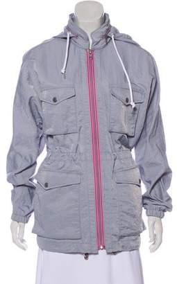 Rag & Bone Hooded Zip-Up Jacket