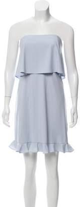 Halston H by Layered Mini Dress