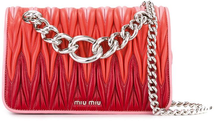 Miu MiuMiu Miu chain strap crossbody bag