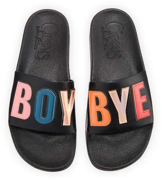 "Sam Edelman Flynn ""Boy Bye"" Pool Sandal"