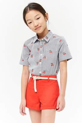 Forever 21 Girls Chino Shorts (Kids)