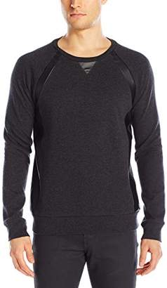 Kenneth Cole Reaction Men's Double Faced Crew Sweatshirt