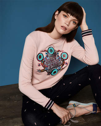 Ted Baker AIMME 'Ball's in your court' jumper