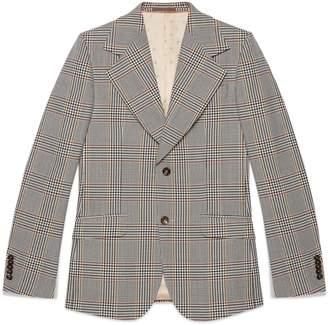 Gucci Heritage retro check jacket