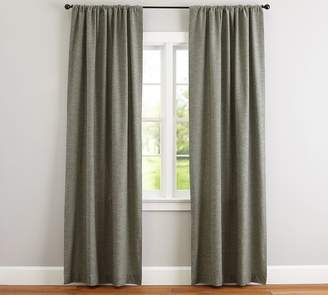 Pottery Barn Emery Linen/Cotton Pole-Pocket Drape