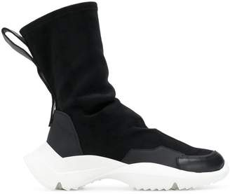 Cinzia Araia hi-top boot trainers