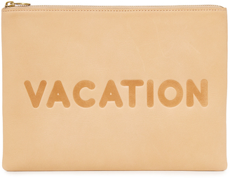 Madewell Vacation Pouch $70 thestylecure.com