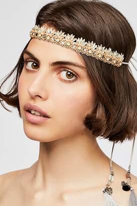 Deepa Gurnani Havana Beaded Tie Back Headband