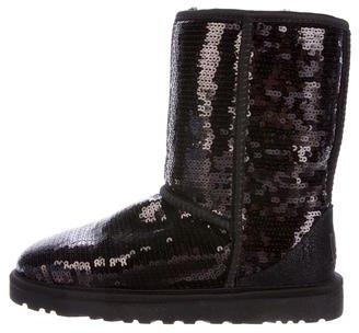 UGG Australia Embellished Short Boots $95 thestylecure.com