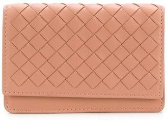 Bottega Veneta Intrecciato leather business card holder