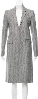 Reed Krakoff Long Notch-Lapel Coat