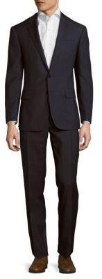 Polo Ralph LaurenSlim Fit Wool Windowpane Suit