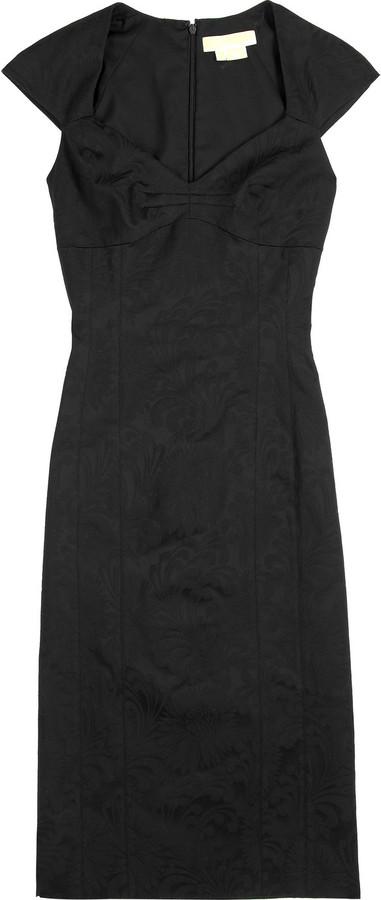 Michael Kors Stretch cotton jacquard dress