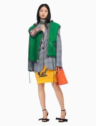 Calvin Klein berkeley varsity skirt