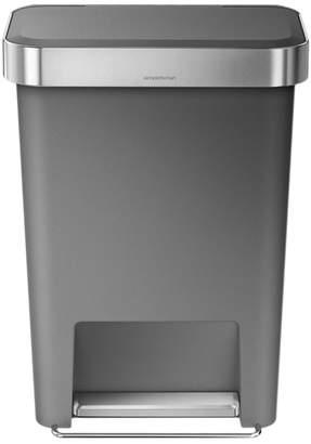 Williams-Sonoma simplehuman Plastic Liner Pocket Trash Can