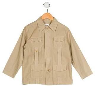Armani Junior Boys' Collared Button-Up Shirt