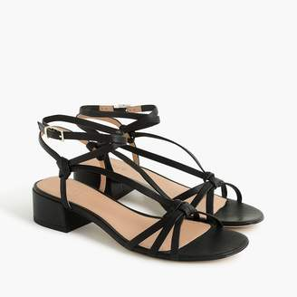 J.Crew Strappy lady sandals in leather