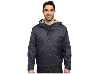 U.S. Polo Assn. Hooded Windbreaker Men's Coat