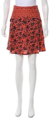 Rachel Comey Printed Mini Skirt