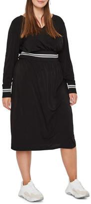 Junarose Ruby Long Sleeve Midi Dress