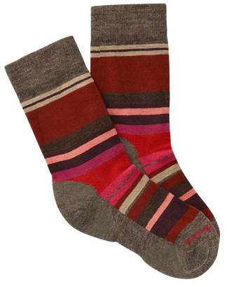 Smartwool Saturnsphere Striped Colorblock Crew Socks