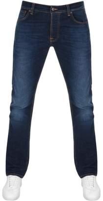 Nudie Jeans Dude Dan Regular Fit Jeans Dark Blue