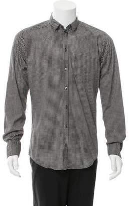 Dolce & Gabbana Polka-Dot Button-Up Shirt