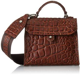 Liebeskind Berlin Glendale Itemcr, Women's Cross-Body Bag, Braun (Dragon Rust), (wxhxd)