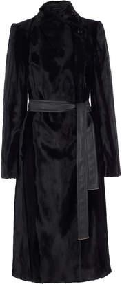 Karen Millen Textured Longline Coat