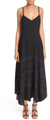Tracy Reese Lace Trim Slipdress $378 thestylecure.com
