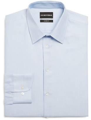 Giorgio Armani Micro Dot Modern Fit Dress Shirt