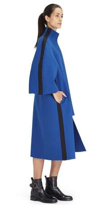 Lanvin Long Indigo Blue Coat