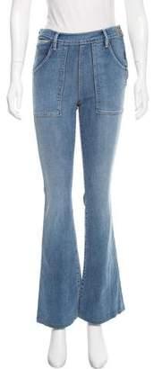 Frame High-Rise La Flare de Francoise Jeans