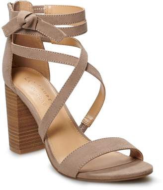 Lauren Conrad Walnut Women's High Heel Sandals
