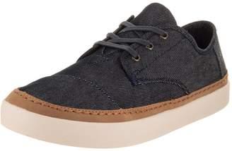 7ec5ddeb3dd Toms Men s Paseo Denim Ankle-High Canvas Fashion Sneaker - 9M