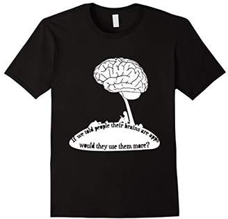 """""""If Brains Were Apps..."""" Funny Smart Book Reader T-Shirt"""