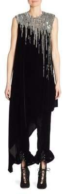 Monse Velvet Sequin Tunic