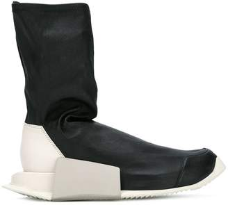 Rick Owens Adidas By Level Sock hi-tops