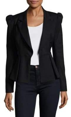 Milly Victoria Wool-Blend Blazer