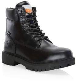 Timberland Men's N. Hoolywood x Direct Attach 6-Inch Soft Toe Leather Boots - Black - Size 9 M