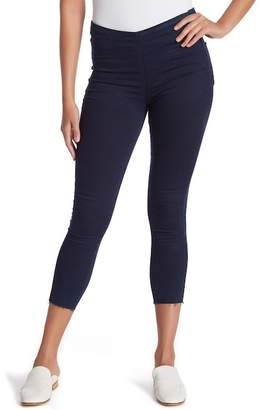 Free People Easy Goes It Pull On Denim Leggings