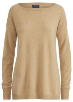 Ralph Lauren Cashmere Boatneck Sweater Camel Xs