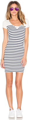 G-Star Short Sleeve Stripe Dress $95 thestylecure.com