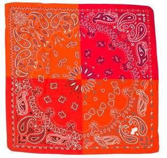 Jane Carr Paisley Print Scarf